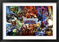 Framed Skylanders Trap Team - Masters