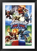 Framed Skylanders Trap Team - Trap