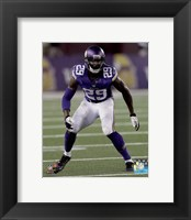 Framed Xavier Rhodes 2014 Action