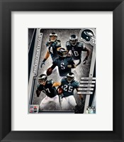 Framed Philadelphia Eagles 2014 Team Composite