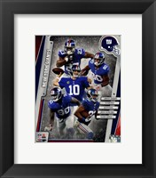 Framed New York Giants 2014 Team Composite
