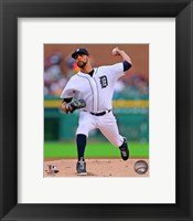 Framed David Price Baseball Pitching