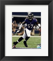 Framed C.J. Mosley 2014 Action