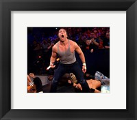 Framed Dean Ambrose 2014 Summer Slam Action