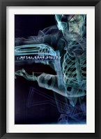 Framed Metal Gear Solid 5 - X-ray