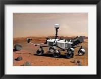 Framed Concept of NASA's Mobile Robot for Investigating Mars