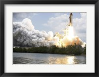 Framed Space Shuttle Atlantis