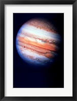 Framed Close-up of Jupiter in space