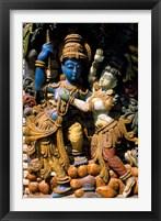 Framed Hindu Temple, Bangalore, India