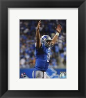 Framed Matthew Stafford 2014 Action