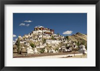 Framed Gompas And Chortens, Ladakh, India