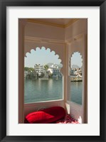 Framed View from a restaurant, Udaipur, Rajasthan, India