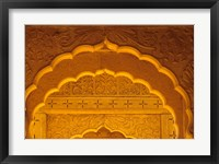 Framed Carved Sandstone Arches, Jaisalmer, Rajasthan, India