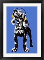 Framed Puppy - Modern Weimaraner