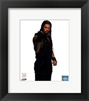 Framed Roman Reigns Wrestling Tatoos