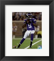 Framed Teddy Bridgewater 2014 Action