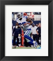 Framed Dez Bryant football 2014