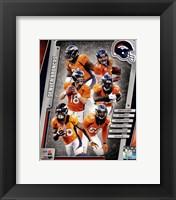 Framed Denver Broncos 2014 Team Composite
