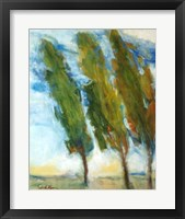 Framed Three Trees