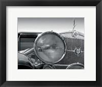 Framed Cadillac V16