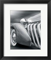 Duesenberg in Motion Framed Print