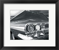 Chevy Tail Framed Print