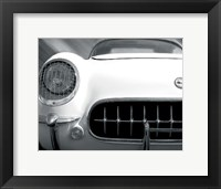 Royal Corvette Framed Print
