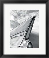 '57 Fin Framed Print