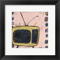 Framed Yellow TV
