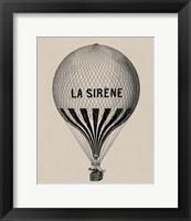 Framed La Sirene
