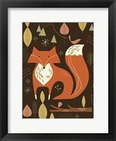 Framed Fox in the Woods