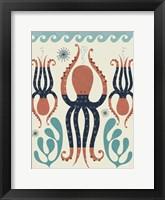 Framed Octopus Garden
