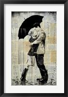 Framed Black Umbrella