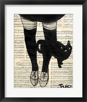 Framed This be Cat