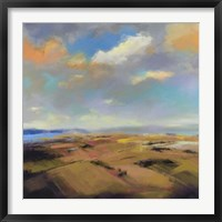 Framed Sky and Land I