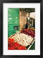 Framed Machne Yehuda Market, Jerusalem, Israel