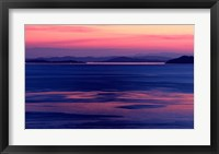 Framed Indonesia, Sulawesi, Togian islands Sunset