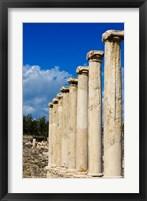 Framed Israel, Bet She'an National Park, Columns