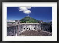 Framed 17th Century Dutch Fort, Banda Island, Indonesia