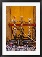 Framed Sheesha pipes, Jerusalem, Israel