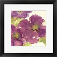 Framed Radiant Flowers I