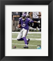 Framed Teddy Bridgewater Football Run