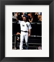 Framed Paul Konerko leaves the field for the last time- September 28, 2014