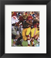 Framed Alfred Morris 2014 Action