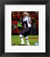 Framed Tom Brady 2014 ready to throw