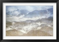 Framed Misty Mountains