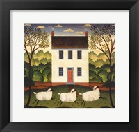 Framed White House