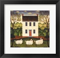 Framed White House