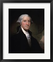 Framed Portrait of George Washington, 1795