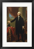 Framed George Washington (Lansdowne Portrait), 1796